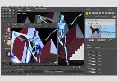 Consumer level Poser Debut 3D animation software released | Macworld