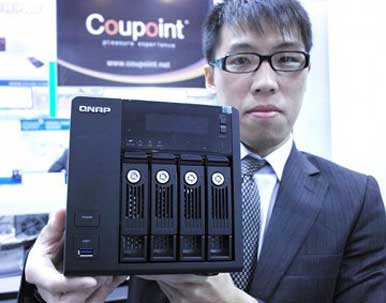 QNAP network-attached storage adds USB 3 0, SATA 6GBps
