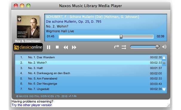 Stream classical music from Naxos Music Library | Macworld