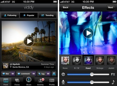 Viddy 'Instagram for video' app debuts on iPhone | Macworld