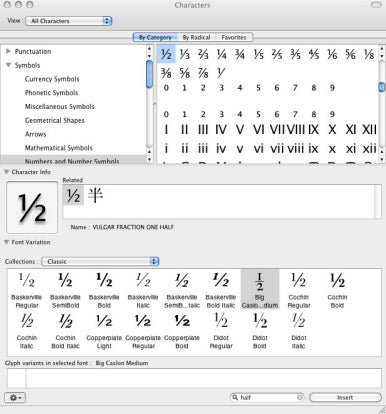 Inserting Real Fractions Into Documents Macworld