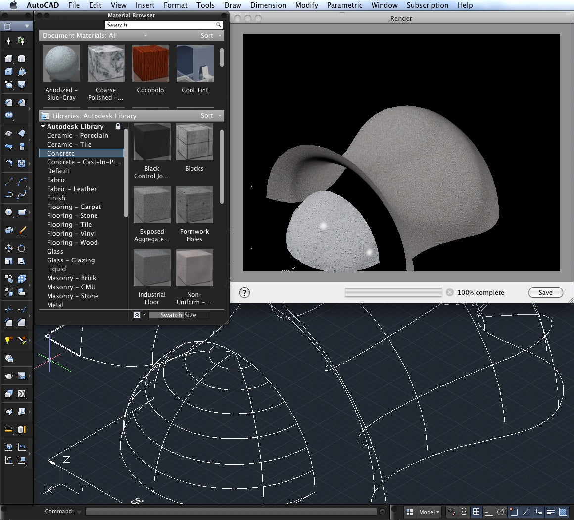 The Extensive Materials Browser Lets You Assign Textures To Objects In Your  Model For Rendering.