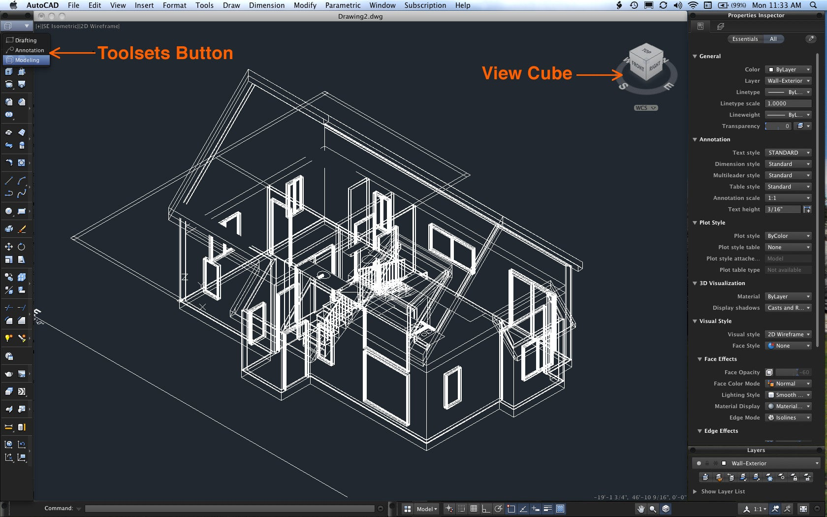 Autocad 2011 macworld for Online cad drawing