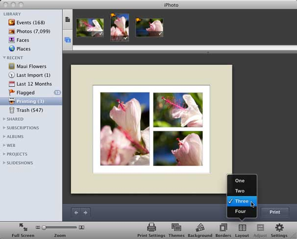 How to print multiple images on a single page | Macworld