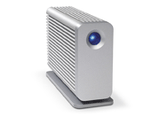 LaCie's Little Big Disk Thunderbolt Series is available in 1TB or 2TB hard drive capacities, or with a 240GB SSD.