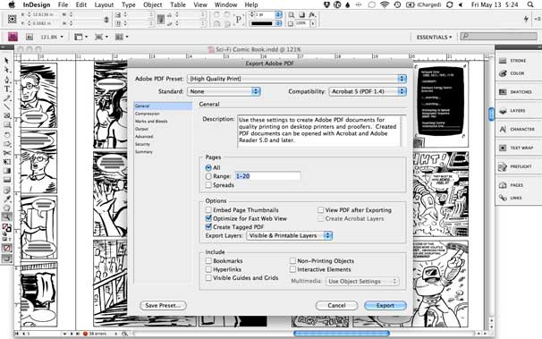 How to prepare your comic book for printing | Macworld