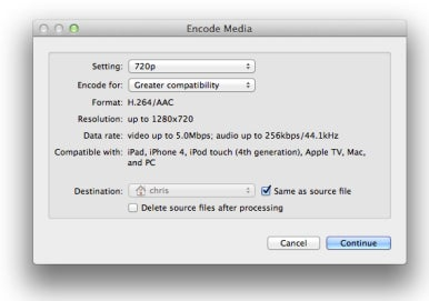 video formats for mac and pc