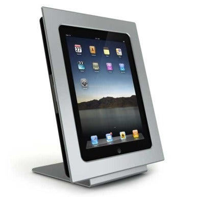 Striped Sail Miframe Does Double Duty As An Ipad Stand And A Photo