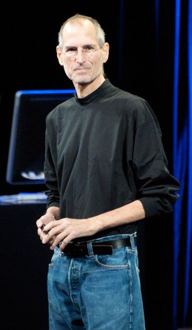 Steve Jobs No Shoes Style Guru Fashion Glitz Glamour Style Unplugged