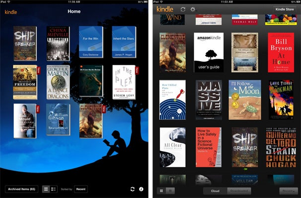 Hands On With Amazon S Kindle Cloud Reader Macworld