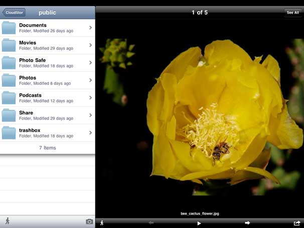 CloudStor for iPad