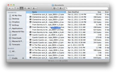 Copy files from your Mac to your Kindle | Macworld