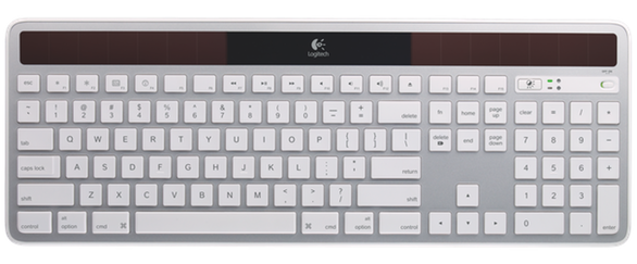 2e65207930d In a well-lit office, the K750's battery takes advantage of that ambient  light to maintain a full charge; according to Logitech, that would let you  use the ...