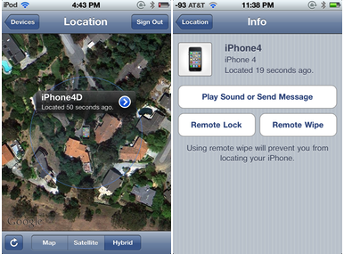 Hands on with Find My iPhone, Mac, and Friends | Macworld