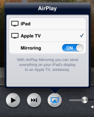 Ios 6 Airplay Mirroring Iphone 5