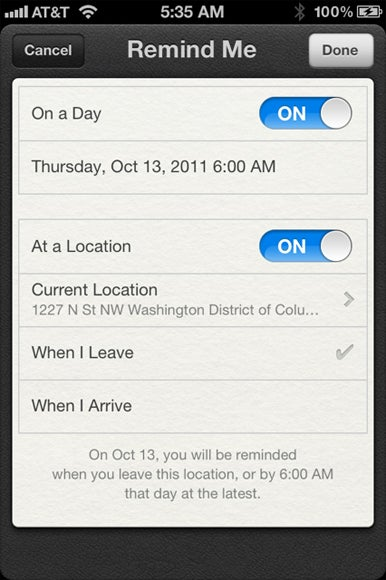 How to use the iOS 5 Reminders app   Macworld