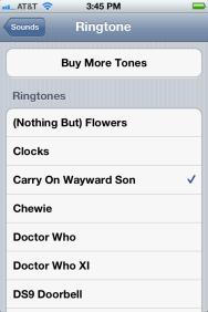 how to set custom ringtone in iphone 5s