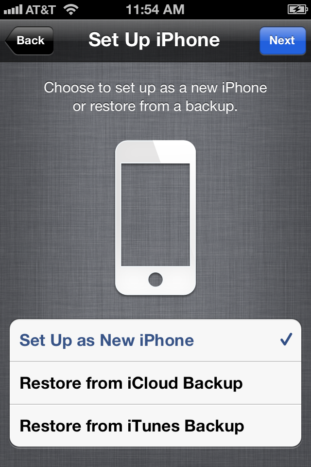 setup as new iphone or restore how to upgrade your ios device to ios 5 macworld 19460
