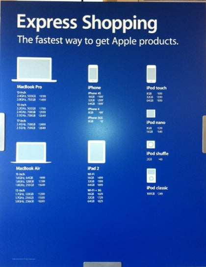 Apple store employee stock options