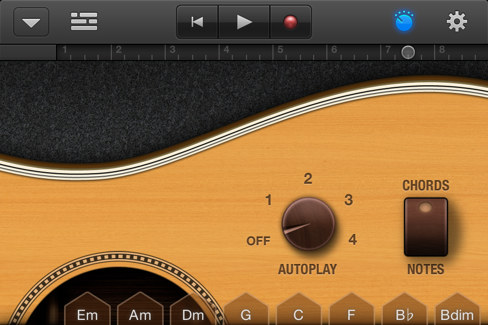 hands on with garageband for the iphone and ipad macworld. Black Bedroom Furniture Sets. Home Design Ideas