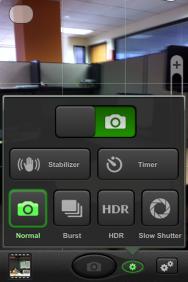 Iphone Camera Stabilizer Setting
