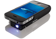 Texas instruments and brookstone debut iphone pocket for Ipad projector reviews
