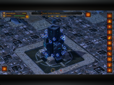 Scroll, tap, and zoom your way through Defense Grid Gold with native touch.