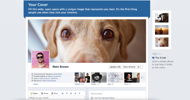 Facebook Timeline offers a new way to organize current and older posts.