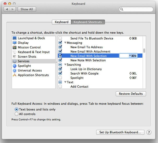 How to use services in Mac OS X | Macworld