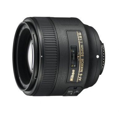 AF-S NIKKOR 85mm f/1.8G FX-format lens