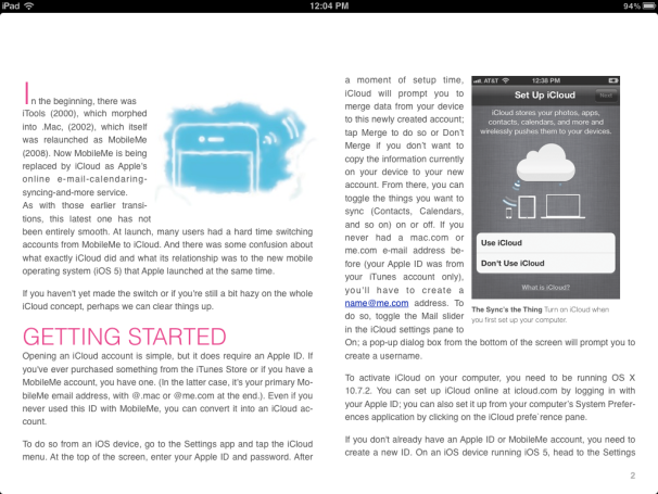 Hands on: iBooks Author effortless to use, but iPad-only | Macworld