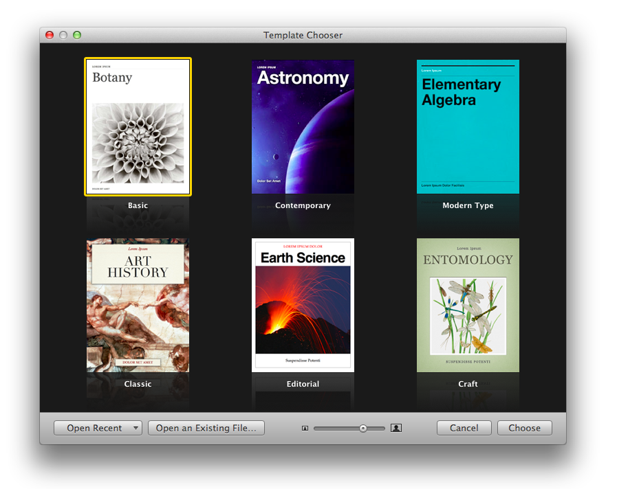 iBooks Author effortless to use, but iPad-only ( - Software )