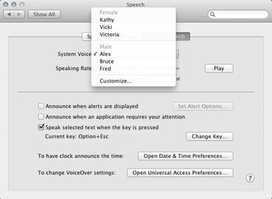 How to change the Mac's system voice | Macworld