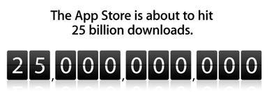 25 billion downloads: apple's app store hits giant milestone.