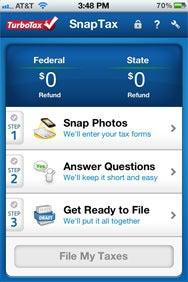 TurboTax SnapTax and TurboTax 2011 for iOS | Macworld