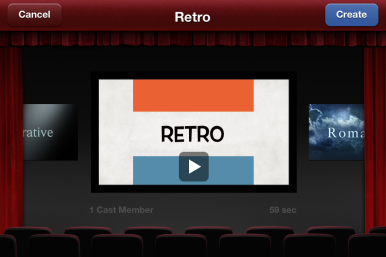 Apple unveils ipad updated ios apps macworld for Trailer templates for imovie