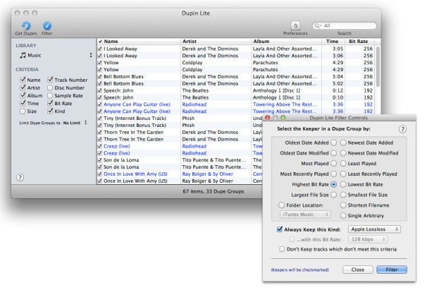 Ask the iTunes Guy: Compression and lossless encoding | Macworld