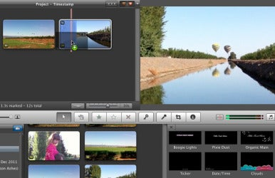 how to add a text screen in imovie