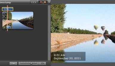 iMovie 11: Anpassen der Lautstrke von Teilen