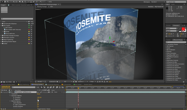 After effects cs6 showcases rebuilt enhanced compositing for Habitacion 3d after effects