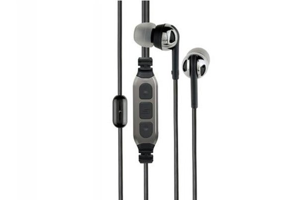 Third place: Scosche Premium Increased Dynamic Range earphones.