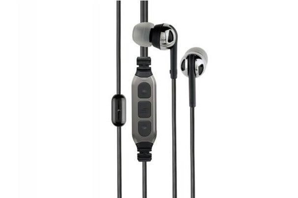 Third place: Scosche Premium Increased Dynamic Range earphones.