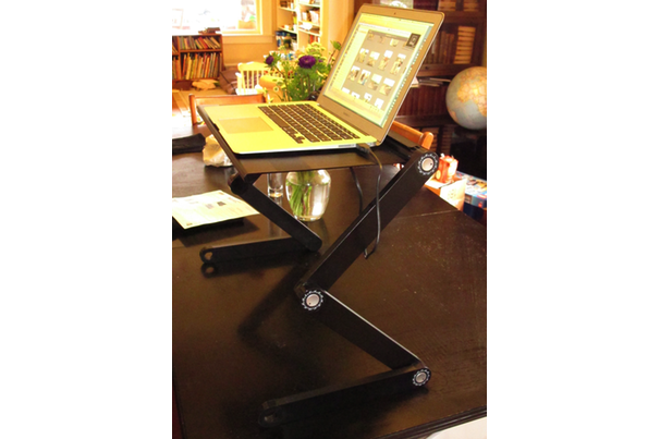 Executive Standing Desk turns any desk into a standing desk Macworld