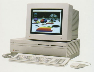 The Mac II had a superior color display for its time.