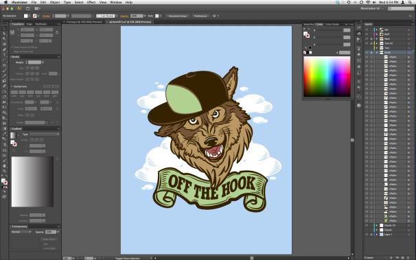 illustrator cs6 full screen