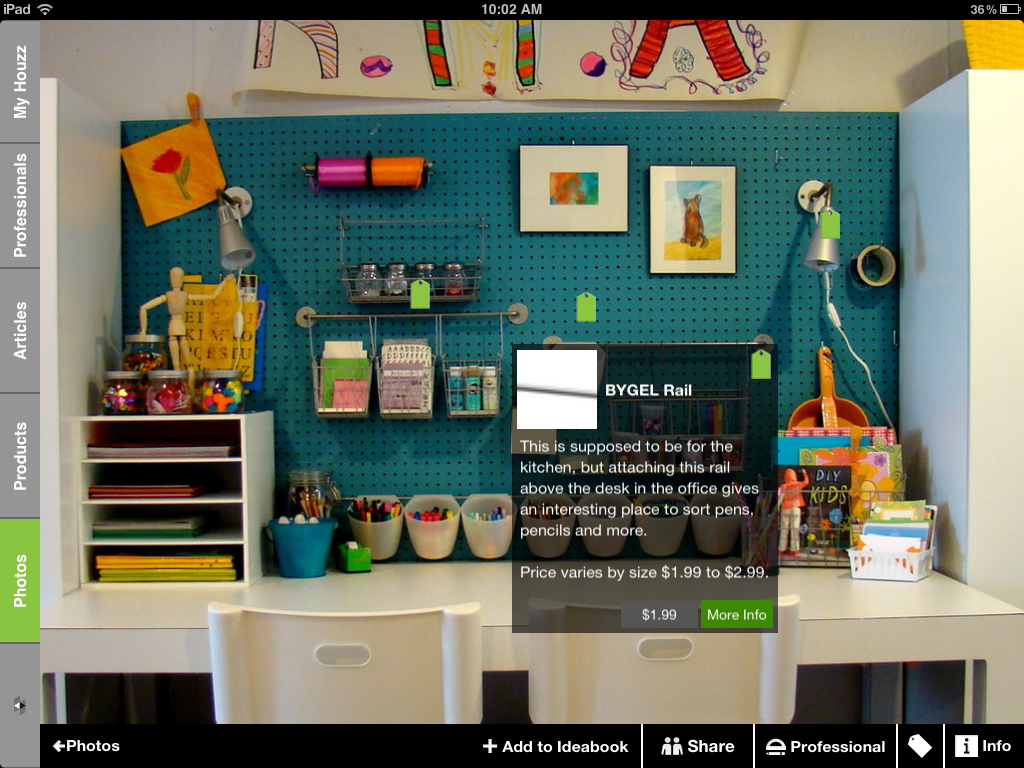green tag sale tap the tag icon at the bottom of the screen and green tags will appear over identified products - Houzz Interior Design Ideas