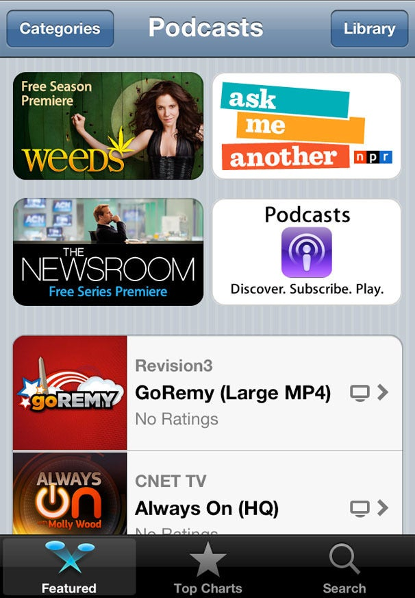 podcasts free on iphone