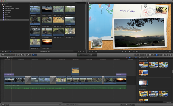 Transitioning from iMovie '11 to Final Cut Pro X
