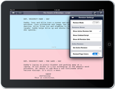10 Best Screenwriting Apps & Programs for iPad