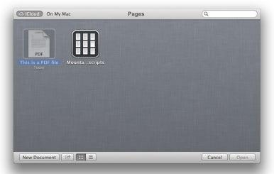 When Documents in the Cloud aren't | Macworld